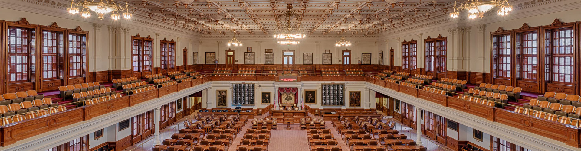 Texas Legislature bannr